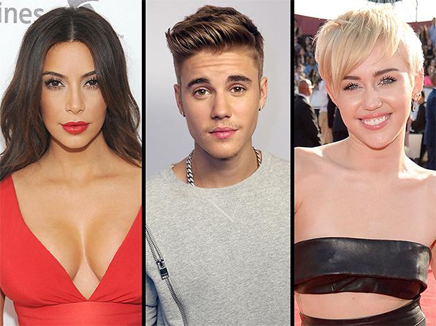 Kim kardashian, Miley Cyrus, Justin Bieber, Ariana Grande… les stars les plus détestées aux U.S.A !