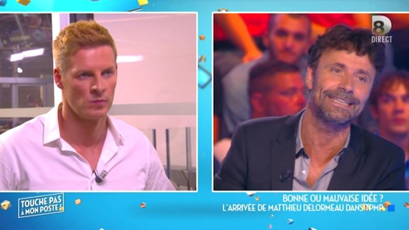 TPMP: Matthieu Delormeau et Christophe Carrière se frictionnent