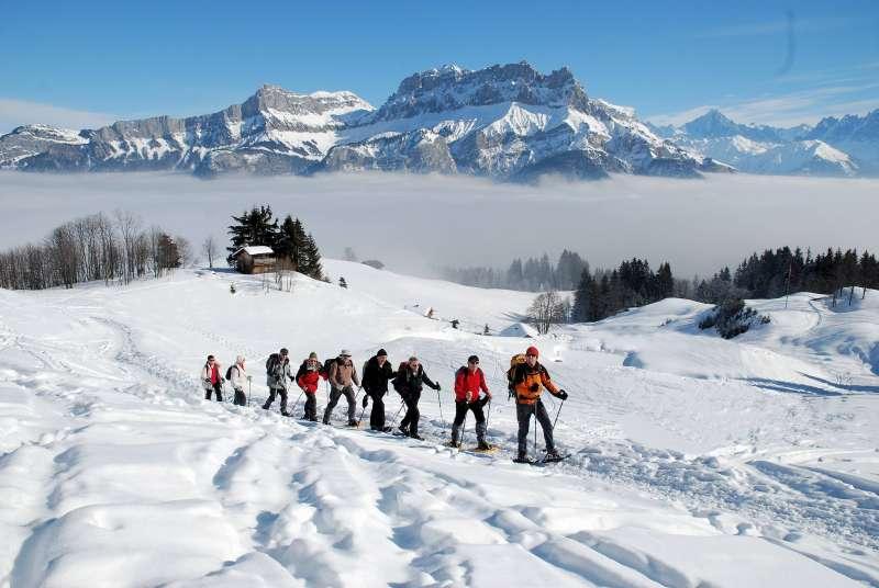 Vacances de célébrités au ski