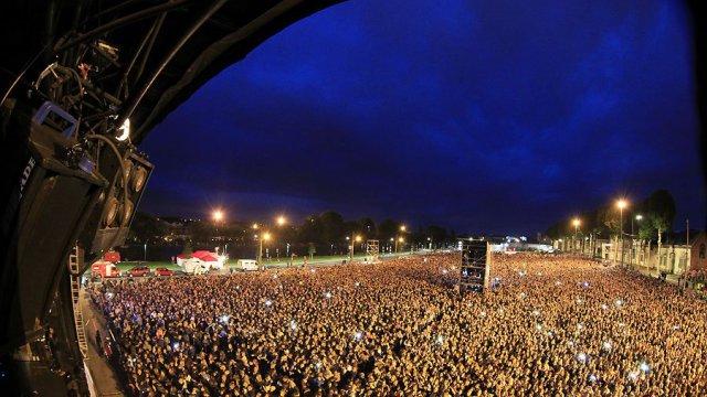 Demi Lovato, Kendji Girac, Louane en concert à Saint-Quentin