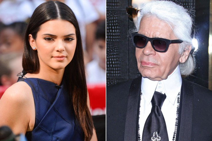Karl Lagerfeld choisit Kendall Jenner et Lily Donaldson pour representer la nouvelle collection Fendi Automne/Hiver