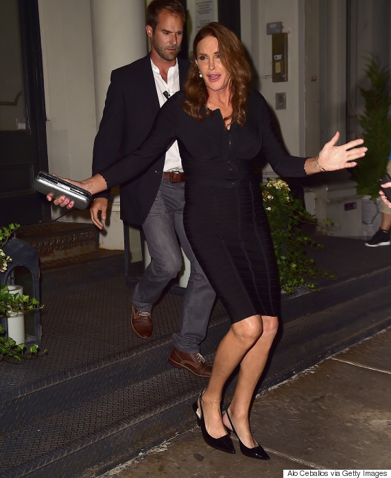 NEW YORK, NY - JUNE 29: Caitlyn Jenner is seen in Tribeca on June 29, 2015 in New York City. (Photo by Alo Ceballos/GC Images)