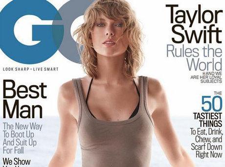 Taylor Swift envoûtante en Une de GQ Magazine !