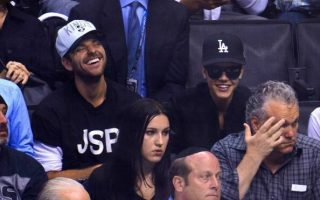 Justin Bieber, lors d'un match