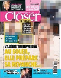 Valérie Trierweiler closer