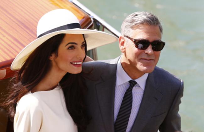 George Clooney vont demenager