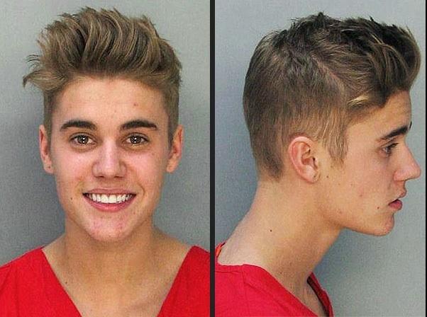 Mugshot de Justin Bieber dévoilé en janvier 2014