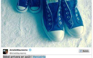 Amelie Mauresmo Bébé arrivera en août enceinte