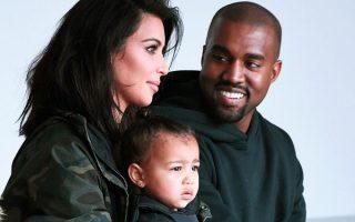 Kim Kardashian, Kanye West et leur fille en Armenie