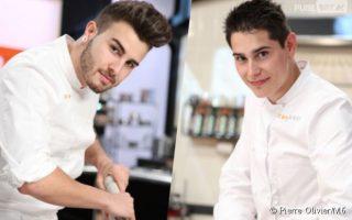 xavier koenig et kevin finalistes de Top Chef 2015