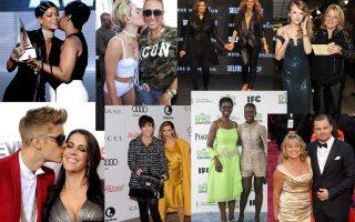 Les Rihanna -Justin bieber-Beyoncé-Taylor Swift- Leonardo Dicaprio-Jared et leurs mères