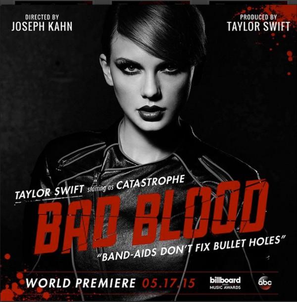Taylor Swift vidéo de Bad Blood
