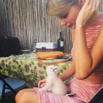 Taylor Swift et son animal de compagnie