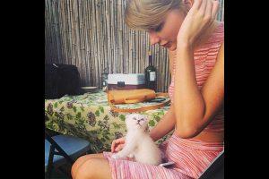 Taylor Swift et son animal de compagnie