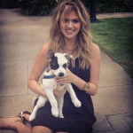 Kate Upton et son animal de compagnie