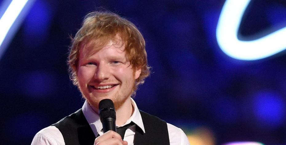 Ed Sheeran a reçu le lundi dernier, un doctorat honorifique de l'université de Suffolk