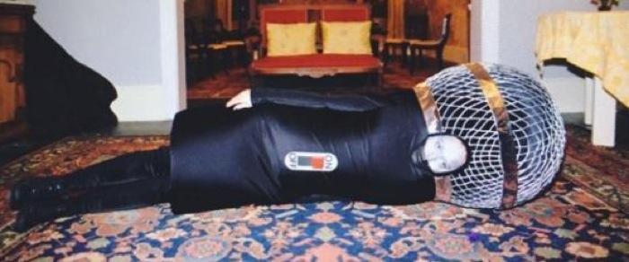 Pour Halloween, Katy Perry a choisi de se déguiser en Micro géant une manière pour elle de rendre hommage à son outil de travail